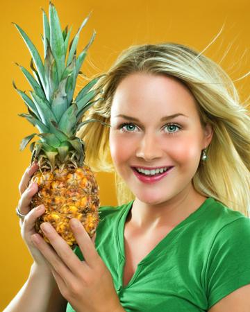 при болезненной менструации попробуйте попить ананасовый сок