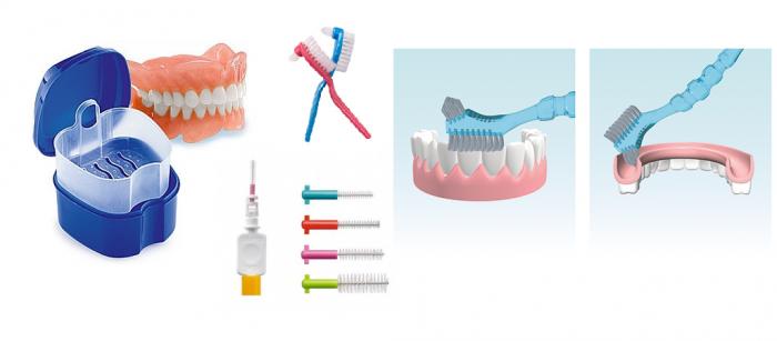 Как ухаживать за зубами в домашних протезами