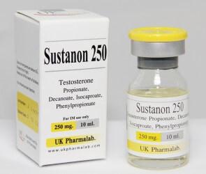 Сустанон 250 Этот препарат для инъекций вводится внутримышечно и содержит четыре разновидности тестостерона. Сустанон 250 хорошо переносится пациентами различных возрастных групп и может применяться для лечения врожденного или приобретенного первичного и вторичного гипогонадизма. Препарат вводится один раз в 7-10 дней.