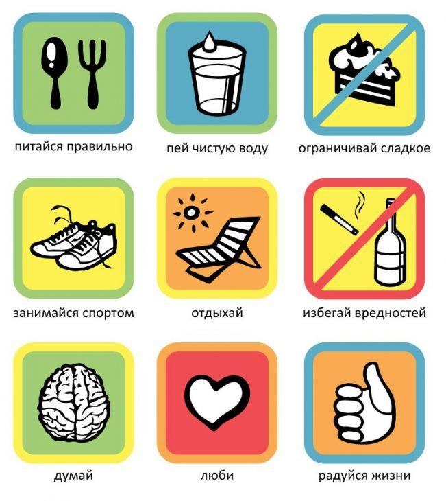 про здоровый образ жизни детям