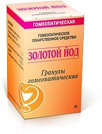 золотой йод гомеопатия