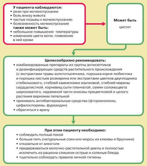 Цистит: обзор средств для снятия боли и воспаления