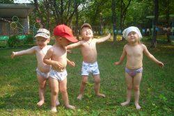 Закаливание детей дошкольного возраста: консультация педиатра