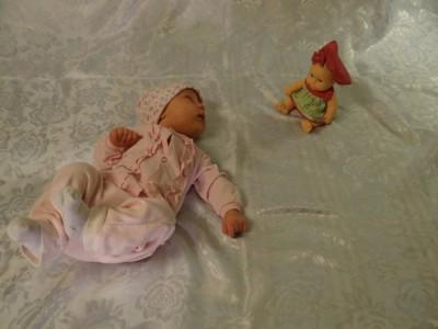знакомство мамы с новорожденным