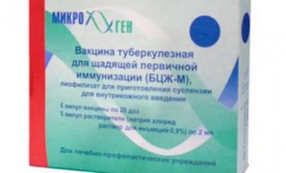 Прививка против туберкулеза детям и проба Манту