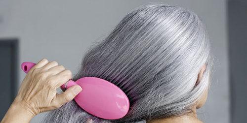седые волосы более ломкие