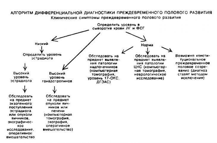 алгоритм диагностики ППС