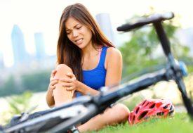 Первая помощь при травмах голени и коленного сустава