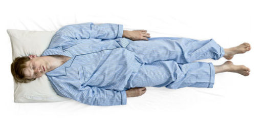Как спать при переломе ребер