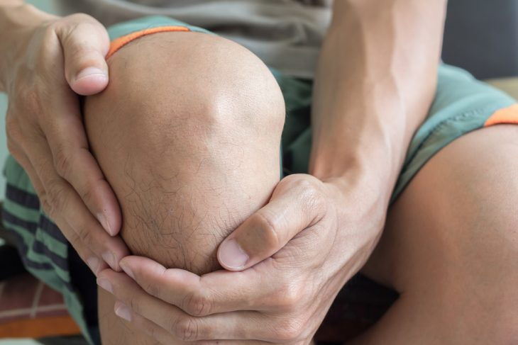 Последствия пункции коленного сустава