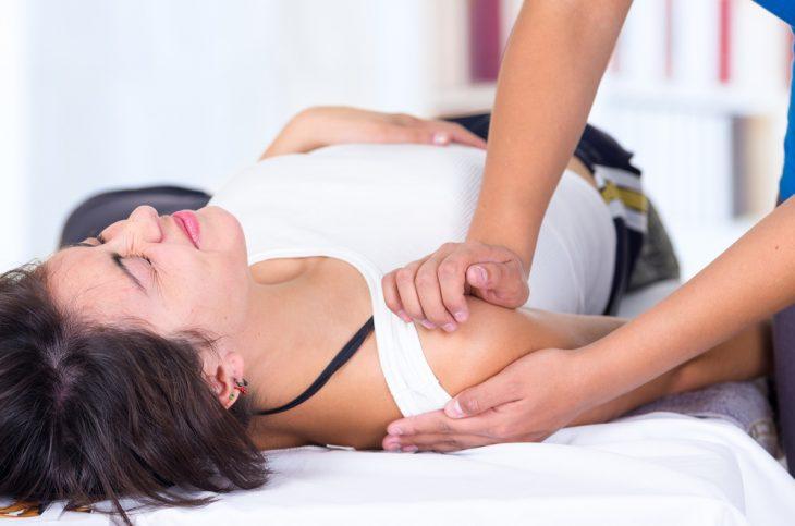 Массаж руки после перелома плечевой кости
