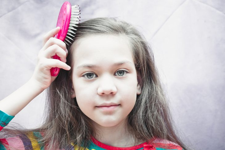 в чем хранить волосы ребенка