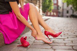 Мозоли на ногах: лечение в домашних условиях
