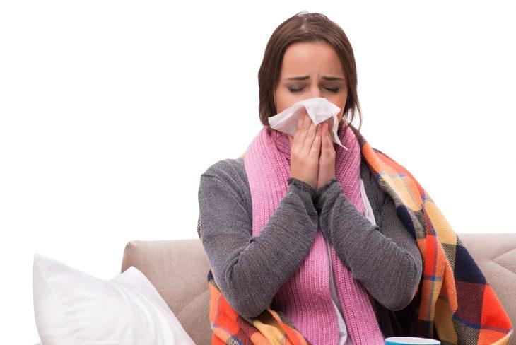 Симптомы при простуде в носу