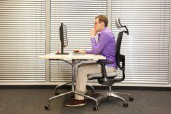 Как правильно сидеть, чтобы сохранить красивую осанку? Упражнения для исправления сколиоза