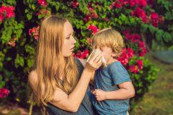 Поллиноз: как помочь ребенку?